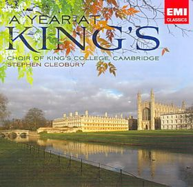 Choir Of King's College - A Year At King's College (CD)