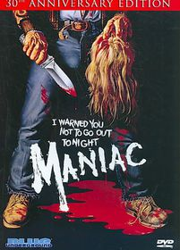 Maniac 30th Anniversary Edition - (Region 1 Import DVD)