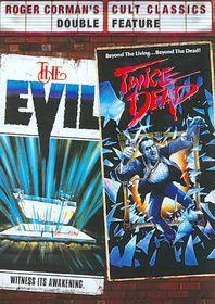 Evil/Twice Dead - (Region 1 Import DVD)