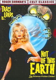 Not of This Earth - (Region 1 Import DVD)