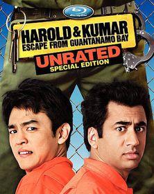 Harold & Kumar Escape from Guantanamo - (Region A Import Blu-ray Disc)