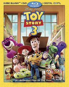 Toy Story 3 - (Region A Import Blu-ray Disc)