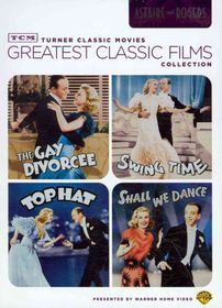 Tcm Greatest Films:Astaire and Rogers - (Region 1 Import DVD)
