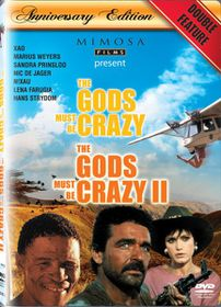 The Gods Must Be Crazy I & II : Anniversary Edition (DVD)