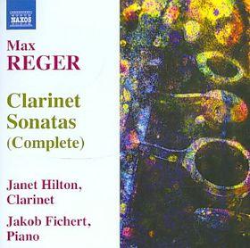 Reger: Clarinet Sonatas - Clarinet Sonatas (CD)