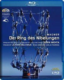 Wagner: Der Ring Des Nibelungen (Mehta) - (Import Blu-ray Disc)