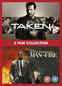 Taken / Man On Fire - (Import DVD)