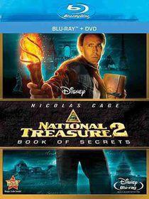 National Treasure 2:Book of Secrets - (Region A Import Blu-ray Disc)