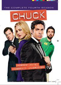 Chuck Season 4 (DVD)