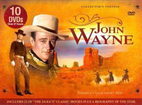 John Wayne:America's Legendary Hero - (Region 1 Import DVD)
