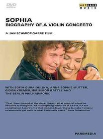 Sophia:Biography of a Violin Concerto - (Region 1 Import DVD)