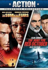 Hunt for Red October/Sum of All Fears - (Region 1 Import DVD)