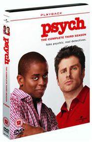 Psych: Season 3 - (Import DVD)