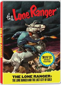 Lone Ranger Double Feature - (Region 1 Import DVD)
