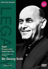 Elgar:Sym No 2 Enigma Variations - (Region 1 Import DVD)