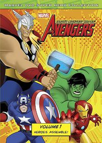 Marvel the Avengers:Earth's Might V 1 - (Region 1 Import DVD)