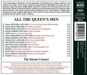 Consort / Heringman / Mackay - All The Queen's Men - Music For Elizabeth I (CD)