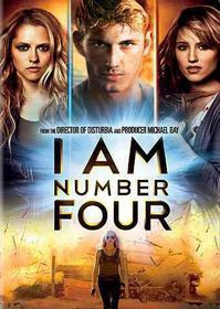 I Am Number Four - (Region 1 Import DVD)