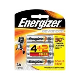 Energizer Advanced Alkaline AA Battery Bundle Pack