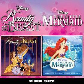 Beauty & The Beast / Little Mermaid - Various Artists (CD)
