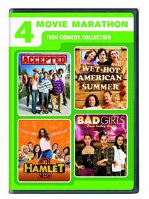 4 Movie Marathon: Teen Comedy Collection (Region 1 Import DVD)