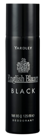 Yardley English Blazer Black Deodorant 125ml