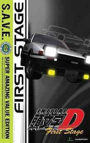 Initial D:Stage 1 (Save) - (Region 1 Import DVD)