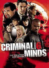 Criminal Minds:Sixth Season - (Region 1 Import DVD)