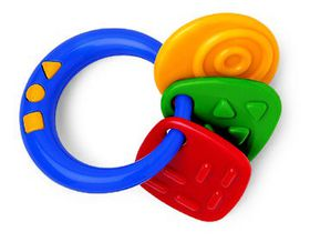 Tolo Toys - Teething Shapes Rattle