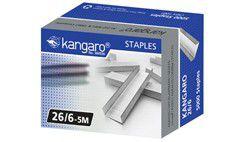 Kangaro 26/6 Staples (Box of 5000)