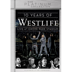 Westlife - 10 Years Of Westlife : Live At Croke Park Stsdium [Platinum Collection ] (DVD)