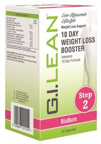 G.I. Lean 10 Day Weight Loss Booster - Intensive 10 Day Formula