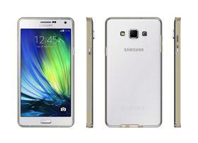 Body Glove Clownfish Aluminum Case for Samsung A7 - Clear & Gold
