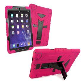 "Tuff-Luv Tri-Layer Survivor Rugged Case for the Apple iPad Pro 9.7"" - Pink/Black"