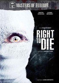 Master of Horror:Right to Die - (Region 1 Import DVD)