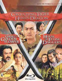 Crouching Tiger Hidden Dragon/Curse - (Region A Import Blu-ray Disc)